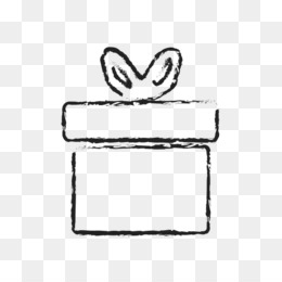 hand drawn box png and psd free download gift christmas computer