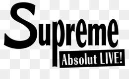 Free Download Logos Supreme Absolut Live Font Supreme Logo Png