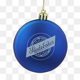 Christmas Ornament Cobalt Blue
