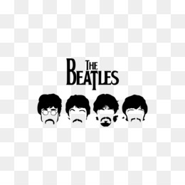 the beatles stencil poster wallpaper silhouette png download 800
