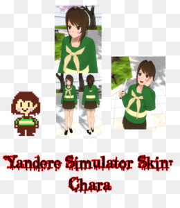 Yandere PNG And PSD Free Download Yandere Simulator Vocaloid - Skins para minecraft de yandere