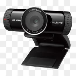 9ebf8a29bd8 HD webcam 1280 x 720 pix Creative LIVE CAM SYNC HD 720P Stand Creative Live!