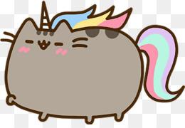 Beautiful Pusheen Cat Pusheen Unicorn · PNG