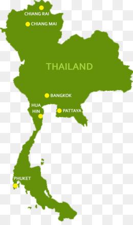 Thailand Map Png Thailand Map Pattaya Thailand Map Krabi