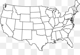 Free download Outline of the United States Blank map Alaska Hawaii ...