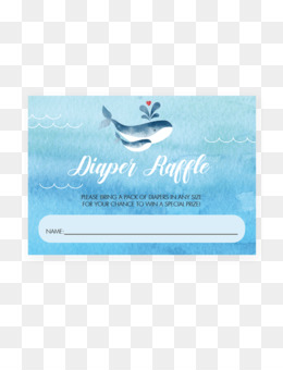 free download diaper raffle baby shower prize ticket raffle tickets png