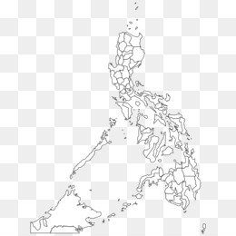 Free Download Outline Of The Philippines Blank Map Geography Map Png