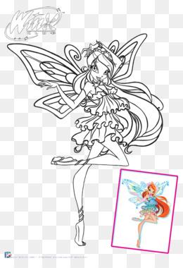 Kleurplaten Winx Club Enchantix En Believix.Winx Club Believix In You Bloom Drawing Kleurplaat Winx Club