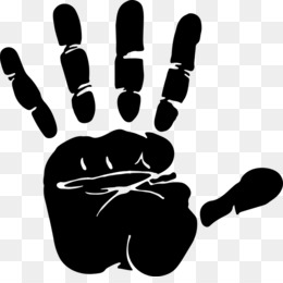 Handprint PNG Transparent Clipart Free Download
