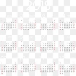 Calendar PNG - Calendar Icon, Calendar Template, December