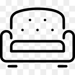Sofa Computer Icons Furniture Kursi Clip Art Jendela Ruang Tamu