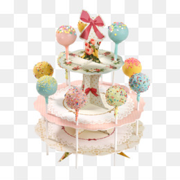 Frosting Icing Lollipop Cake Pop Layer