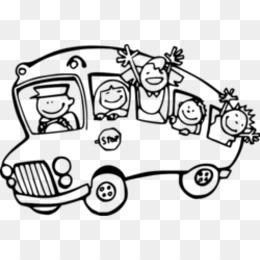 Okul Otobüsü Sarı Boyama Kitabı Otobüs Png Indir 500500