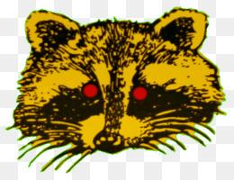 Elegant Whiskers Bright Eyes Lights Raccoon Tiger   Light Design