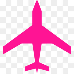 Airplane, Computer Icons, Aircraft, Pink, Purple PNG image with transparent background
