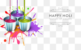 Holi, Wish, Festival Of Colours Tour, Text, Cup PNG image with transparent background
