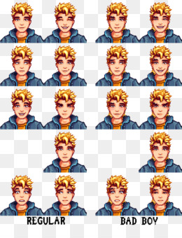 Free download Stardew Valley Face png