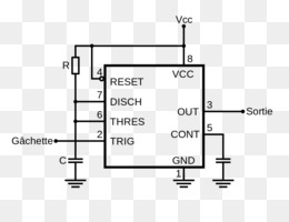 Free download Diode 555 timer IC Astable multivibrator Electronics