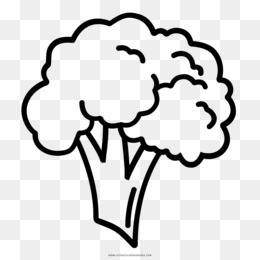 Scaricare Gratuito Disegno Broccoli Libro Da Colorare Line Art