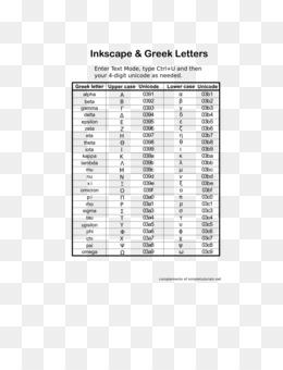 Free download Greek Alphabet Text png