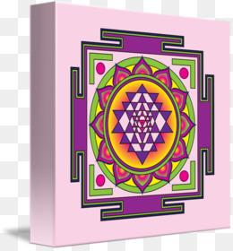Free download Lakshmi Sri Yantra Mantra Mandala - Lakshmi png