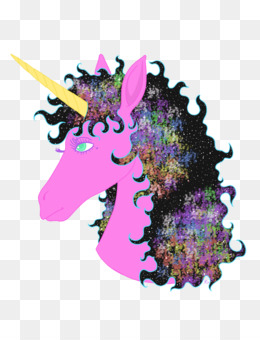 Unicorn, Purple, Mythical Creature PNG image with transparent background