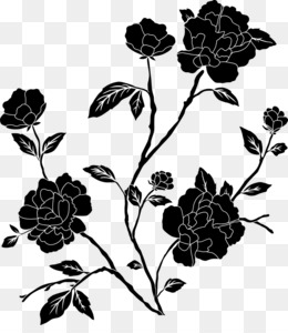 Rose clip art black rose png download 23752329 free png mightylinksfo