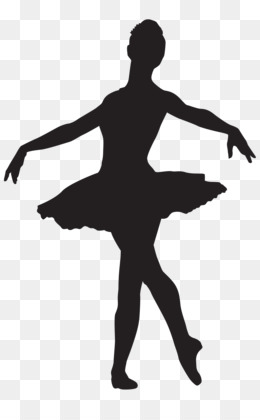 Ballet Dancer, Silhouette, Dance, Footwear PNG image with transparent background