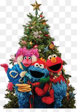 free download christmas tree christmas ornament elmo pbs christmas tree png