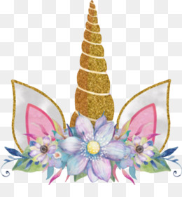 Unicorn, Flower, Sticker, Christmas Ornament PNG image with transparent background