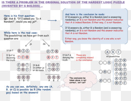Free download Riddle Logic puzzle Question - correct answer png