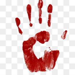 Bloody Hand PNG and Bloody Hand Transparent Clipart Free