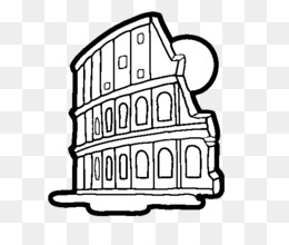 Free Download Colosseum Ancient Rome Drawing Coloring Book Coliseo