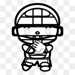 Baseball Catcher Png Baseball Catcher Silhouette Baseball Catcher