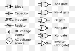 electronic symbol circuit diagram wiring diagram schematic electrical  network - symbol