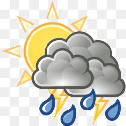 Free Download Cloud Rain Sunlight Thunderstorm Clip Art Cloud Png
