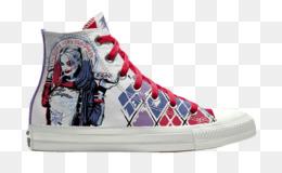 fd55f6532248 Harley Quinn Joker Deadshot Converse Chuck Taylor All-Stars - high heeled  converse