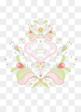 Free Download Floral Wedding Invitation Background Png