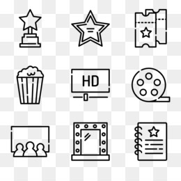 Free Download Computer Icons Resume Icon Design Cinema Vector Free