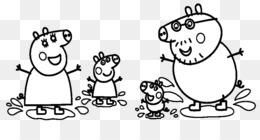 George Pig Daddy Pig Mummy Pig Coloring Book Pig 500500