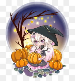 Free Download Halloween Pumpkin Cartoon Desktop Wallpaper