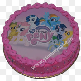 Pinkie Pie Pony Cake Decorating Pink PNG Image With Transparent Background