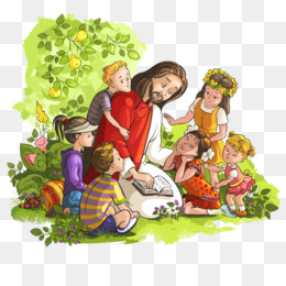 teaching the ascension of jesus to children