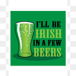 Beer, Irish Whiskey, Irish People, Green, Text PNG image with transparent background