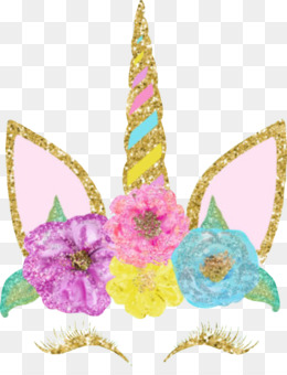 Unicorn, Flower, Petal PNG image with transparent background