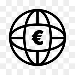 World, Computer Icons, Bank, Black And White, Circle PNG image with transparent background