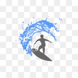 Free Download Surfing Surfboard Desktop Wallpaper Clip Art