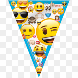 Party Birthday Emoji Yellow Smiley PNG Image With Transparent Background