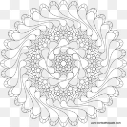 Color Mandala PNG And PSD Free Download