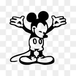 Scaricare Gratuito Mickey Mouse Minnie Mouse In Bianco E Nero Di